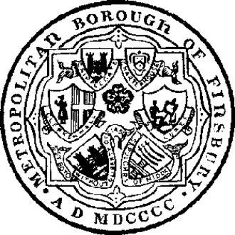 Metropolitan Borough of Finsbury - Image: Seal finsbury