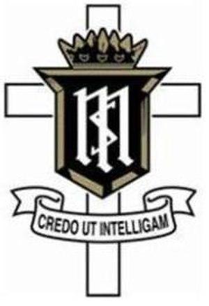 Servite High School - Image: Servite High School Anaheim CA logo