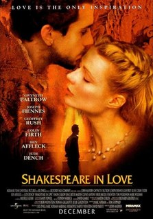 <i>Shakespeare in Love</i> 1998 film by John Madden