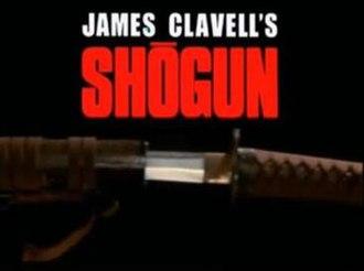 Shōgun (1980 miniseries) - Image: Shogun titles