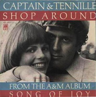 Shop Around - Image: Shop Around Captain & Tennille