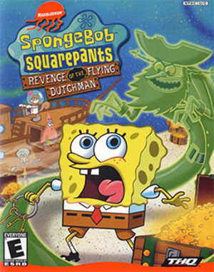 SpongeBob SquarePants: Revenge of the Flying Dutchman - Image: Spongebob Squarepants Revenge of the Flying Dutchman Coverart