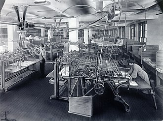 Street & Smith - Image: Street & Smith bindery room circa 1910