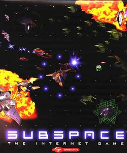 Front cover of the SubSpace installation CD