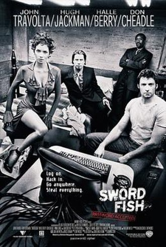 Swordfish (film) - Theatrical release poster
