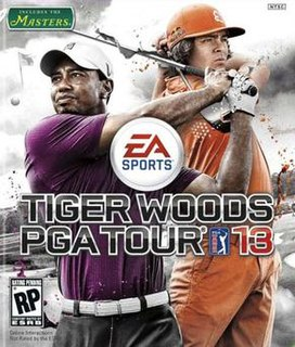 <i>Tiger Woods PGA Tour 13</i> 2012 video game