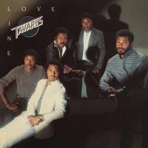 Loveline (Tavares album) - Image: Tavares Loveline Album Front