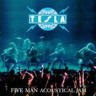 Five Man Acoustical Jam - Image: Tesla fivemanacousticaljam