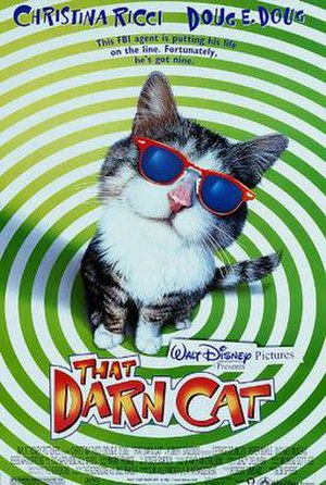 That Darn Cat (1997 film) - Promotional poster
