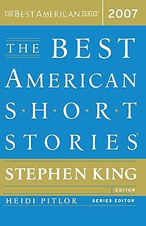<i>The Best American Short Stories 2007</i>