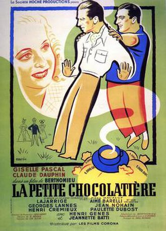 The Chocolate Girl (1950 film) - Image: The Chocolate Girl (film)