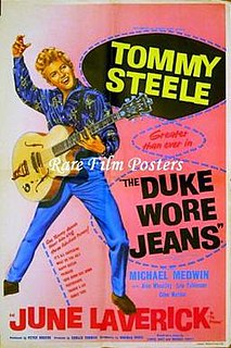 <i>The Duke Wore Jeans</i> 1958 film by Gerald Thomas