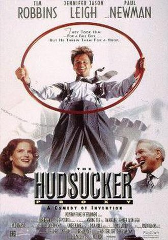The Hudsucker Proxy - Theatrical release poster