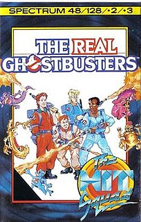 <i>The Real Ghostbusters</i> (1987 video game) 1987 video game