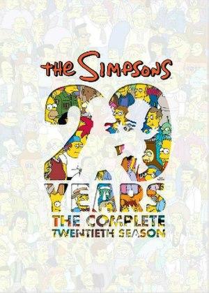 The Simpsons (season 20) - DVD cover