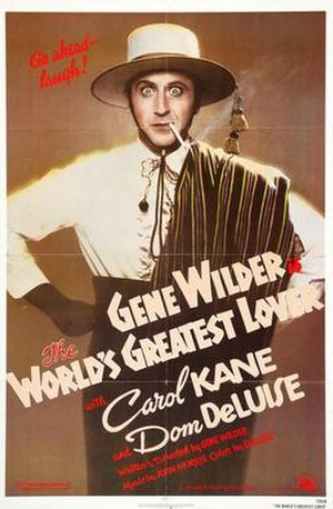 The World's Greatest Lover - DVD Cover