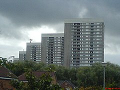 Thornliebank towers.JPG