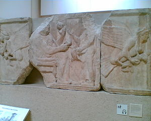 Harpy Tomb - The Harpy Tomb reliefs in the British Museum