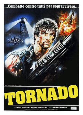 Tornado: The Last Blood - Italian theatrical release poster