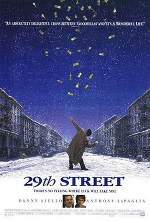 29th Street (film) - Promotional movie poster