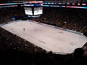 2014 U.S. Figure Skating Championships - Meryl Davis and Charlie White perform their free dance at the 2014 U.S. Championships