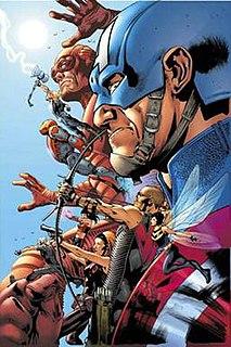 Ultimates Marvel Comics series