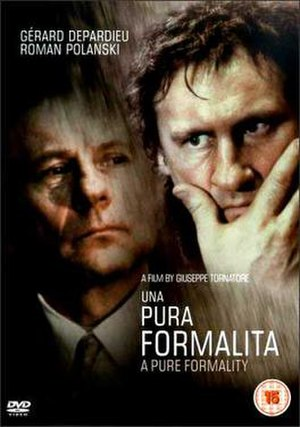 A Pure Formality - DVD cover
