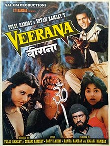Veerana (1988) SL YT - Hemant Birje, Jasmin (Indian actress)