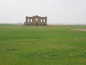 Verendrye, North Dakota - Abandoned Falsen School