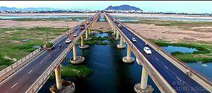 Andhra Pradesh Capital Region - Bridges on Krishna River, Vijayawada