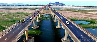 Andhra Pradesh Capital Region - Bridges on Krishna River, Vijayawada