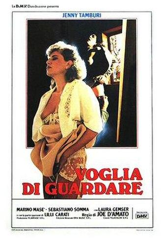 Voglia di guardare - Italian theatrical release poster