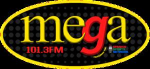 WIBG (AM) - Image: WIBG La Mega 101.3 1020 logo