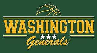 Washington Generals Exhibition basketball team known for losing