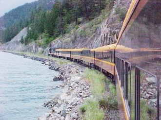 BC Rail - The Whistler Northwind.