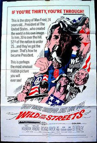 Wild in the Streets - Theatrical release poster by Reynold Brown