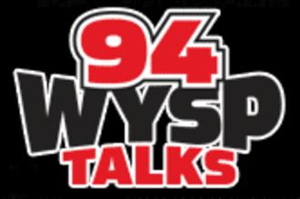 WIP-FM - post-Free FM logo for 94 WYSP Talks.