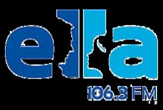 XHETE-FM - Image: XHETE Ella 106.3 logo