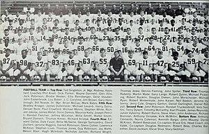 1969 Illinois Fighting Illini football team - Image: 1969 Illinois Fighting Illini football team