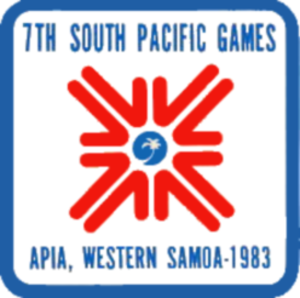 1983 South Pacific Games - Image: 1983 South Pacific Games logo