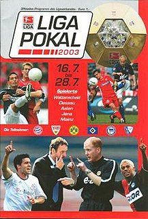 2003 DFB-Ligapokal football tournament season