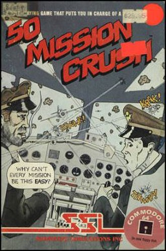 50 Mission Crush - Cover art of 50 Mission Crush