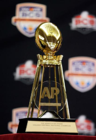 College football national championships in NCAA Division I FBS - The AP National Championship Trophy