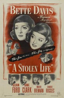 A Stolen life Theatrical release poster.jpg