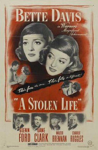 A Stolen Life (1946 film) - Theatrical release poster