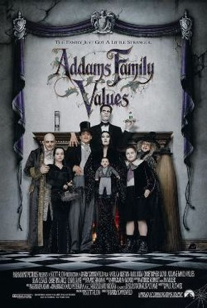 Addams Family Values - Theatrical release poster