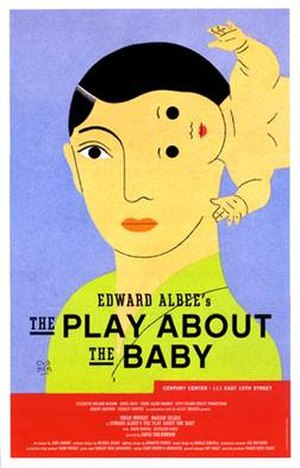 The Play About the Baby - The poster for the first American production