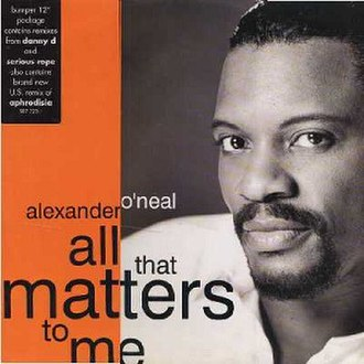All That Matters to Me - Image: All That Matters to Me