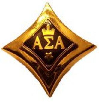 Alpha Sigma Alpha - The badge