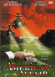 <i>An American Affair</i> (1997 film) 1997 movie directed by Sebastian Shah